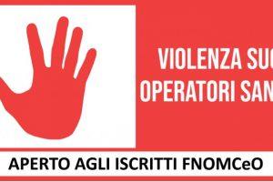 Online il nuovo corso FAD di FNOMCeO sulla violenza nei confronti degli operatori sanitari