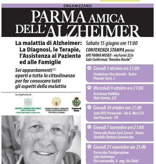 Parma amica dell'Alzheimer