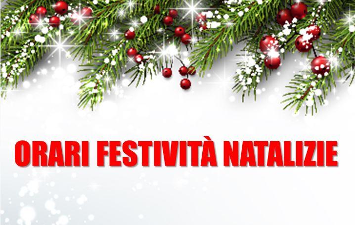 Festività Natalizie: orari Segreteria Ordine Medici