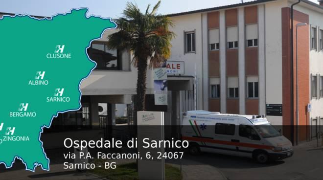Ricerca medici fisiatri o equipollenti per reparto e guardie – Ospedale di Sarnico (Bg)