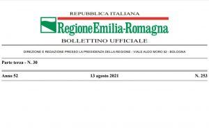 Regione Emilia Romagna – Pubblicazione delle zone carenti