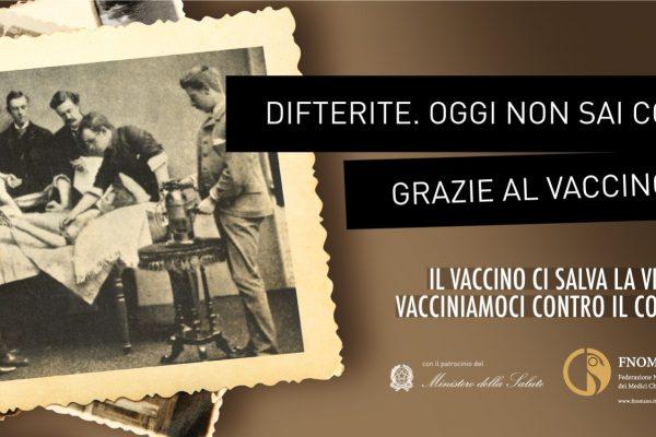 Ministero della Salute e Fnomceo – Campagna per la vaccinazione